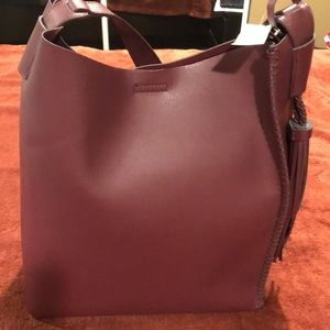 Brand New Large Non-Leather Tote Purse